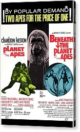 Planet Of The Apes, 1968 Acrylic Print by Everett