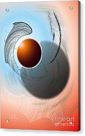 Planetarium Acrylic Print by Leo Symon