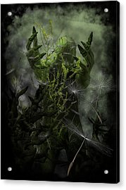 Plant Man Cometh Acrylic Print by Michael Knight