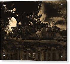 Plantation House  Acrylic Print by Maggy Marsh