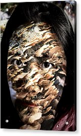 Plates Of Woe Acrylic Print by Christopher Gaston