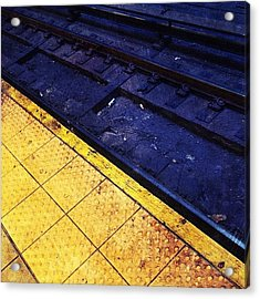 Platform & Tracks Acrylic Print