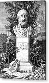 Plato, Ancient Greek Philosopher Acrylic Print by