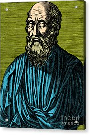 Plato, Ancient Greek Philosopher Acrylic Print by Photo Researchers