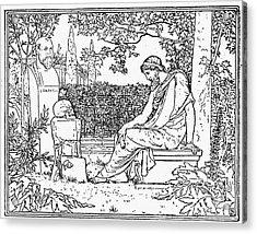 Plato (c427-c347 B.c.) Acrylic Print by Granger