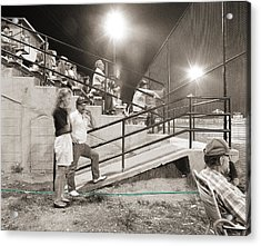 Play Ball Acrylic Print by Jan W Faul