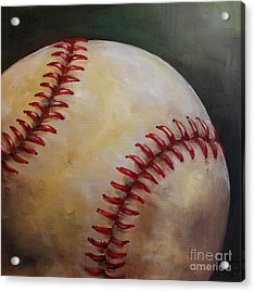 Play Ball No. 2 Acrylic Print by Kristine Kainer