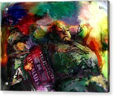 Play For Me Acrylic Print by James Thomas