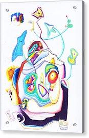 Playa 1 09 Acrylic Print by Xole