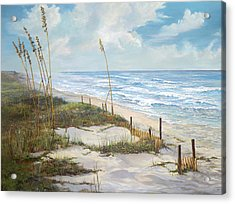 Acrylic Print featuring the painting Playalinda by AnnaJo Vahle