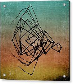 Playback Acrylic Print by Bonnie Bruno