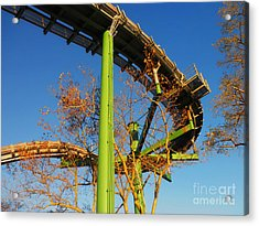 Playland II Acrylic Print by David Klaboe