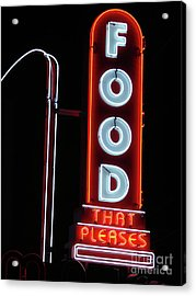 Pleasing To The Eye Acrylic Print by Mark Holbrook