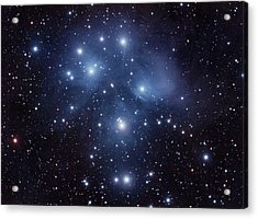 Pleiades M45 Acrylic Print