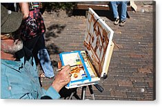 Plein Air At Aspen  Acrylic Print