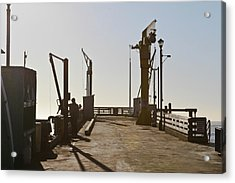 Point Arena Cove Pier Acrylic Print