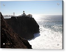 Point Bonita Lighthouse In The Marin Headlands - 5d19655 Acrylic Print by Wingsdomain Art and Photography