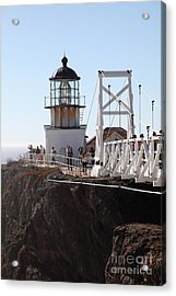 Point Bonita Lighthouse In The Marin Headlands - 5d19667 Acrylic Print by Wingsdomain Art and Photography
