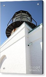 Point Bonita Lighthouse In The Marin Headlands - 5d19682 Acrylic Print by Wingsdomain Art and Photography