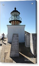 Point Bonita Lighthouse In The Marin Headlands - 5d19689 Acrylic Print by Wingsdomain Art and Photography