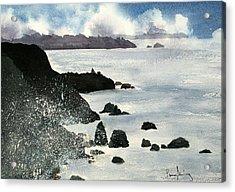 Point Bonita Lighthouse Acrylic Print