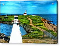 Point Cape One Acrylic Print by Rick Bragan