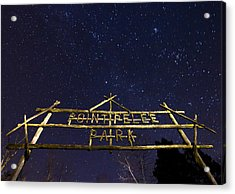 Point Pelee Under The Stars Acrylic Print by Cale Best