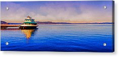 Point Ruston Awaiting Acrylic Print by Ken Stanback