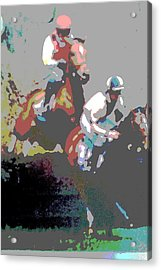Point To Point Acrylic Print