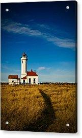 Point Wilson Lighthouse Acrylic Print by Dan Mihai