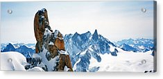 Pointing To The Sky Acrylic Print