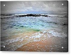 Poipu Kauai Acrylic Print