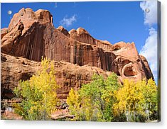 Poison Spider Mesa In The Fall Acrylic Print by Gary Whitton