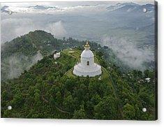 Pokhara, Nepal, Asia- World Peace Acrylic Print by Keenpress
