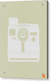 Polaroid Camera 3 Acrylic Print by Naxart Studio