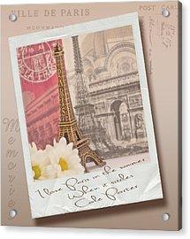 Polaroid Memories Acrylic Print by Sandra Rossouw