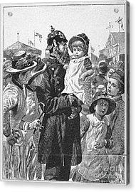 Policeman, 1885 Acrylic Print by Granger