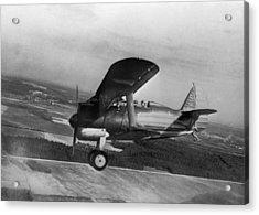 Polikarpov I-15, Soviet Fighter, 1935 Acrylic Print by Ria Novosti
