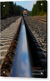 Polished Rails Acrylic Print
