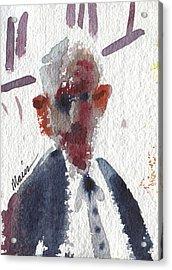Politician Acrylic Print by Donald Maier