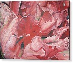 Pollyflower Acrylic Print
