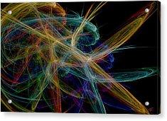 Polysynchronicity 1 Acrylic Print
