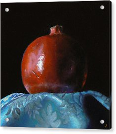 Pomegranate Number 2 Acrylic Print by Jeffrey Hayes