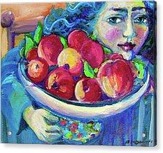 Pommes Acrylic Print