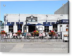 Pompeis Grotto Restaurant . Fishermans Wharf . San Francisco California . 7d14197 Acrylic Print by Wingsdomain Art and Photography
