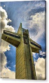 Ponce Cross Acrylic Print by Nicholas Caputo