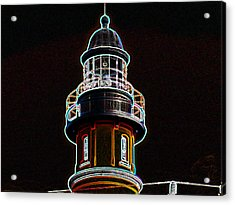 Ponce Inlet Lighthouse Acrylic Print by Dennis Dugan
