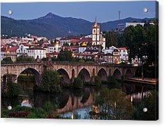 Ponte Da Barca Acrylic Print by Dias Dos Reis