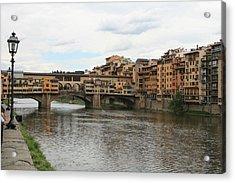 Ponte  Vecchio Florence Acrylic Print