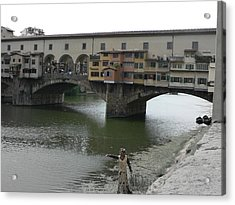 Acrylic Print featuring the photograph Ponte Vecchio by Laurel Best